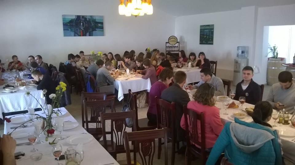 in vizita la cramele ostrov domenii ostrov actiunea 2012 scoala de cultura si afirmare romaneasca martie 2014
